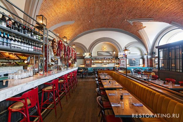 ресторан «Jamie's Italian», Санкт-Петербург