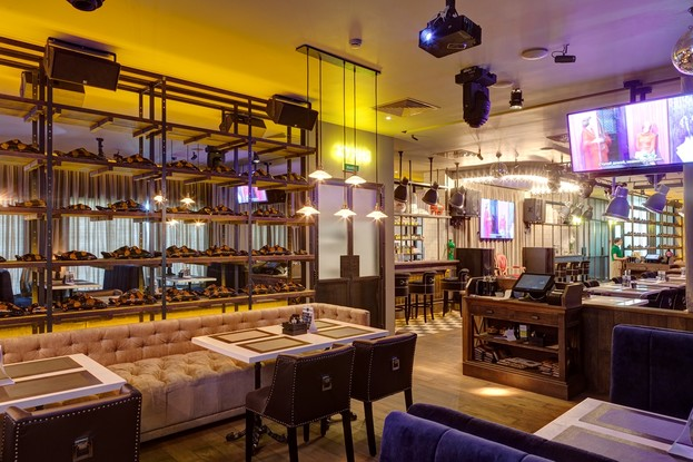 ресторан «ЛюбимRest», Санкт-Петербург: 2 этаж