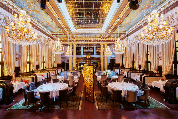 ресторан «Метрополь», Санкт-Петербург: Колонный зал.