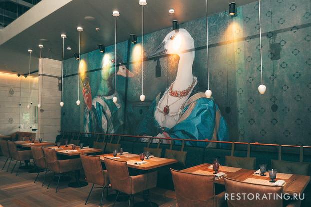 ресторан «Птичий двор», Санкт-Петербург