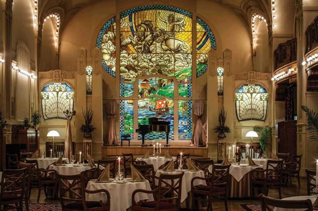 ресторан «Европа», Санкт-Петербург: Зал «Европа»
