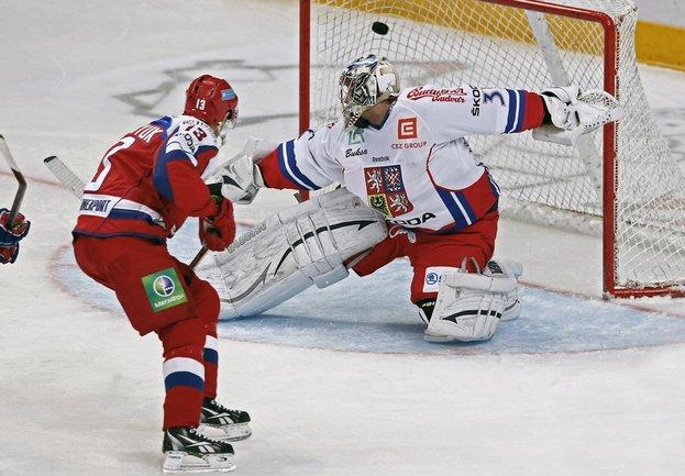 Schwaben Keller: Хоккей. Россия — Чехия