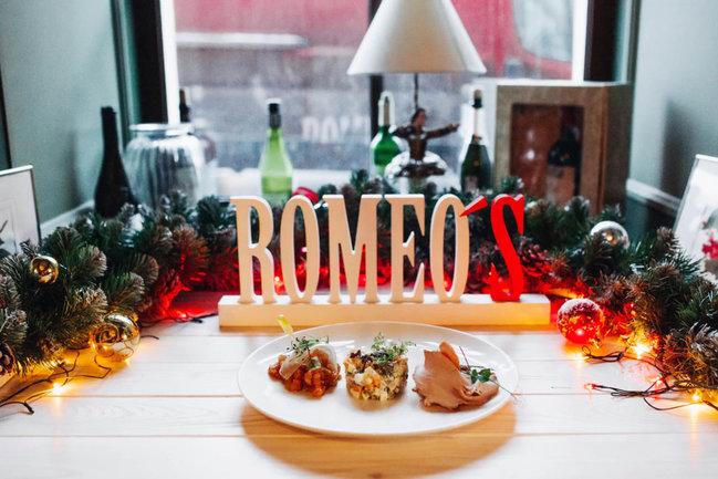 Romeo's Bar and Kitchen: Новый год в теплой компании