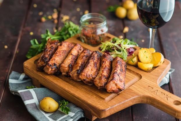 Ресторан «Парк», Санкт-Петербург: Свиные ребрышки BBQ