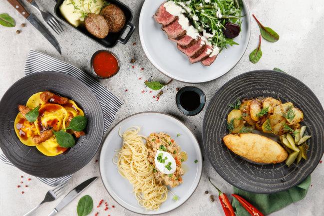 Плюшкин: Обед или гастрономическое удовольствие?