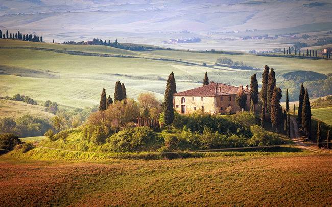 Птичий двор: Ужин с тосканскими винами