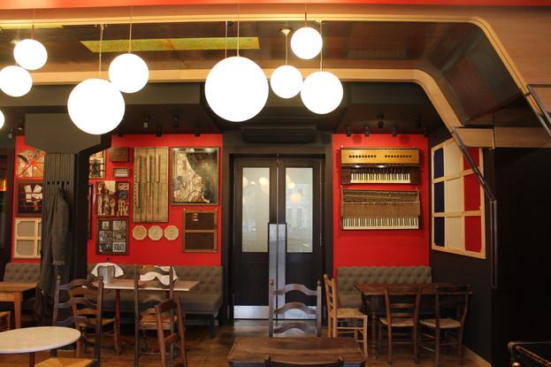 ресторан «Le Moujik», Санкт-Петербург