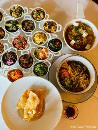 Mindal Cafe: Корейский сет