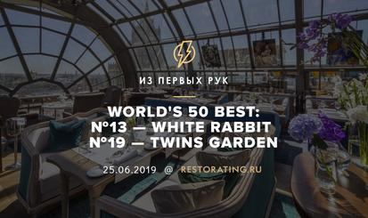 World's 50 Best: White Rabbit — №13, Twins Garden — №19