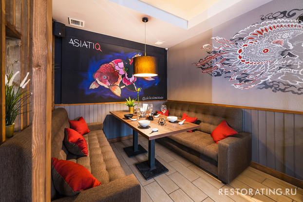 кафе «Asiatiq», Санкт-Петербург