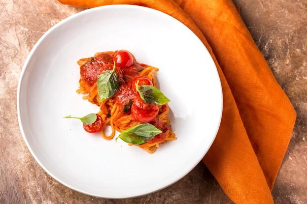 Ресторан «Romeo's Restaurant», Санкт-Петербург: Спагетти с томатами