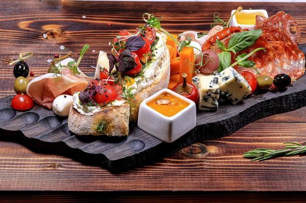 Ресторан «The River Restaurant», Санкт-Петербург: Ассорти итальянских закусок